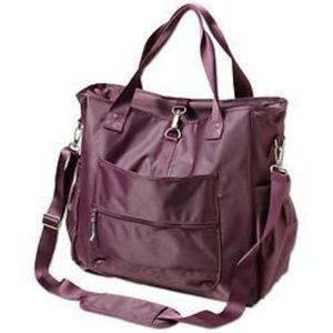 Athleta Cargo Tote Yoga Bag Purple